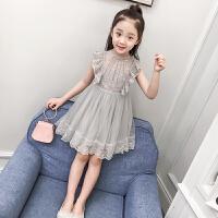 女童连衣裙新款夏装童装女中大童儿童公主裙夏季小女孩裙子薄