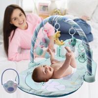 带遥控音乐故事哄睡助眠益智摇铃游戏毯玩具婴儿脚踏钢琴健身架