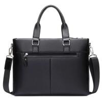 时尚潮男包手提包包横款大容量单肩包男士背包斜挎包商务公文包