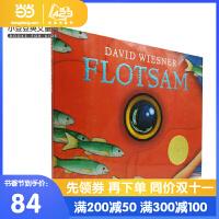 英文原版Flotsam 海底的秘密 [精装] [4-8岁]
