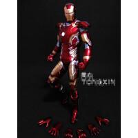 7寸反浩克钢铁侠3手办复仇者联盟2装甲MK43 MK42可动人偶模型玩具