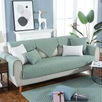 四季布艺棉沙发垫北欧防滑皮坐垫子现代客厅组合包沙发套罩