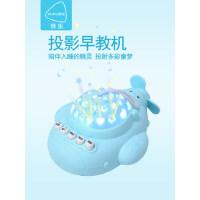 小飞机婴儿催眠助眠0-1岁宝宝音乐安抚玩具早教机带星空投影益智