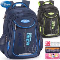 迪士尼小学生书包1-3-6年级男童女童米奇6-12岁儿童休闲双肩背包