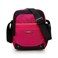 防水尼龙布包单肩斜挎包斜跨包手机包女士户外休闲运动女包小包包