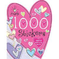 【预订】1000 Stickers I Love Hearts
