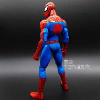 7寸超凡蜘蛛侠电影可动人偶 手办玩具模型生日礼物 漫威MARVEL