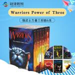 Warriors: Volumes 猫武士第3三部6册全套 英文原版进口小说章节桥梁书预视力量暗河汹涌 驱逐之战天蚀遮