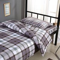 ???床上宿舍三件套学生单人床单被套纯棉全棉0.9m1米上下铺男女