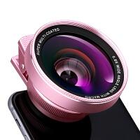 2018新款 【大口径】广角无畸变外置摄像头 单反鱼眼微距三合一外接手机镜头