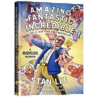 漫威之父 英雄的诞生 英文原版书 Amazing Fantastic Incredible 英文版斯坦李自传 全彩漫画