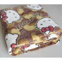 单人双人珊瑚绒毯子床单空调被夏凉被儿童毯加厚