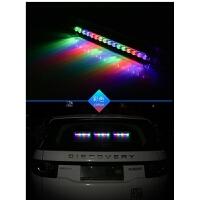 汽车太阳能爆闪灯防追尾灯装饰灯警示灯霹雳游侠LED车内流水灯