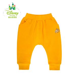 【卷后139元3件】迪士尼Disney 童装新款儿童裤子春秋季长裤男女宝宝休闲哈伦裤153K670