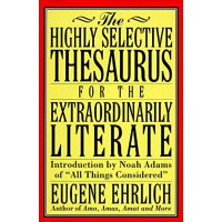 英文原版 The Highly Selective Thesaurus for the Extraordinarily