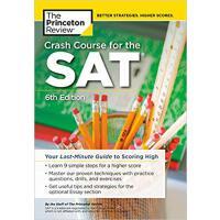 现货英文原版普林斯顿 SAT速成班第六版 Crash Course for the SAT, 6th Edition 美