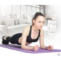瑜伽运动垫加厚10mm瑜伽垫健身器材垫仰卧起坐初学者平板运动支撑垫