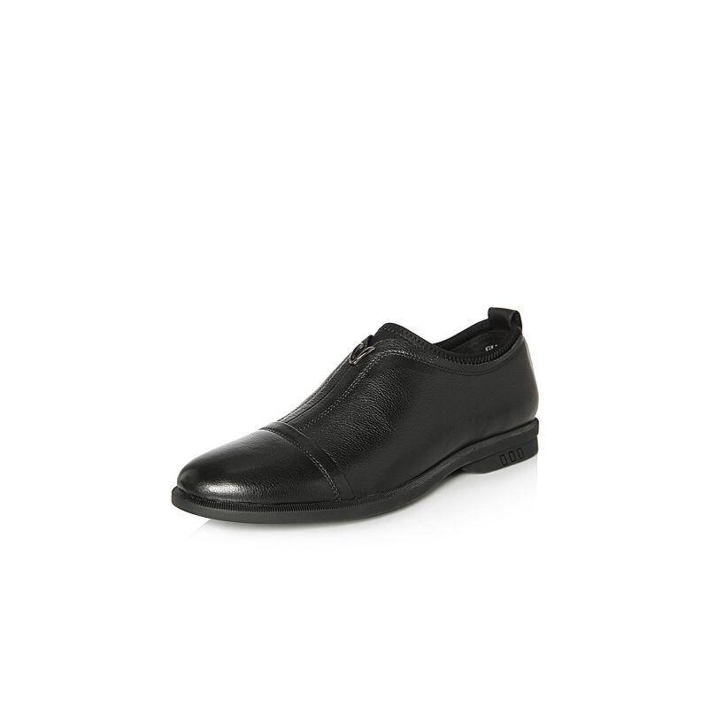 Belle/百丽2018春季新品专柜同款牛皮革男休闲鞋5QJ01AM8