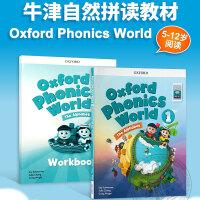 新版一级别少儿英语自然拼读phonics教材牛津英语拼读世界 英文原版 Oxford Phonics World L1