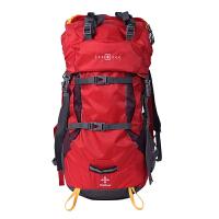SWISSGEAR 瑞士军刀户外运动防水50L登山双肩背包JP3150RE红色