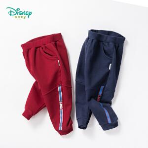 【3件4折】迪士尼Disney童装 春秋萌酷帅气宝宝运动长裤183K806