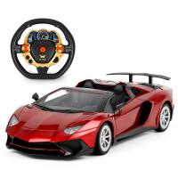 ?大兰博基尼遥控车充电漂移赛车跑车电动遥控汽车儿童男孩玩具车?