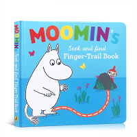 Moomin's Search and Find Finger Trail book 芬兰童话姆明纸板书 Tove Ja