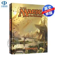 英文原版 万智牌:阿芒凯 游戏设定集 The Art of Magic: The Gathering - Amonkhe