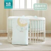 秋冬宝宝儿童棉床围套件婴儿床上用品风床围