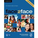 【预订】Face2face Pre-Intermediate Student's Book with DVD-ROM
