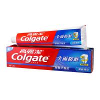 高露洁(Colgate)全面防蛀清新薄荷牙膏 250g(清新口气,强健牙釉质)