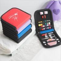 针线包便携套装迷你缝纫线盒家用高档针线盒多功能缝补收纳包