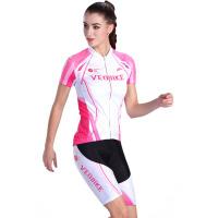 夏季女 山地自行车骑行短裤上衣 短袖骑行服套装