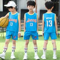 儿童背心男童背心夏薄款篮球服男孩吊带无袖运动套装