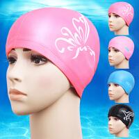 泳帽女士长发防水成人PU游泳帽泳镜近视防雾游泳镜游泳装备