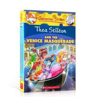 【全店300减100】英文原版 Thea Stilton and the Venice Masquerade 西娅和威尼