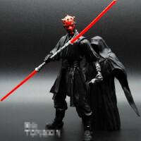 星球大战7 绝地黑武士达斯摩尔维达配光剑 可动人偶手办模型玩具
