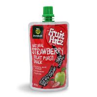 新西兰喜滋果果泥草莓果味2段进口果泥宝宝辅食水果泥12个月+