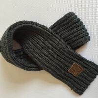 韩版冬季儿童小围巾男女童围脖冬天韩国宝宝小孩保暖毛线婴童脖套 均码