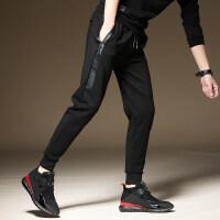 秋冬季男士运动裤迷彩韩版潮流休闲裤冬款外穿加绒加厚卫裤