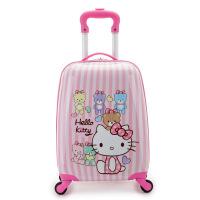 儿童拉杆箱万向轮耐磨18英寸可爱卡通旅行箱男女学生行李箱包硬壳箱子百搭懒人托运手提箱 18英寸