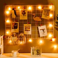 墙面装饰品挂件墙壁上铁网格房间卧室小饰品少女宿舍ins创意寝室 m0c