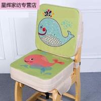 动漫坐垫小学生透气增高加厚餐椅加高坐垫椅垫儿童座椅椅子宝宝儿童床单保暖坐垫办公室 39X39cm