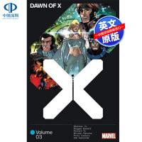 现货 漫威漫画 X战警的黎明3 英文原版 Dawn of X Vol 3 Jonathan Hickman 美漫 Mar