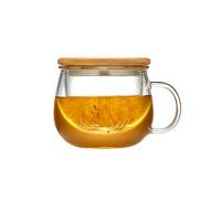 男女士带过滤玻璃杯办公室茶杯水杯花茶杯套装杯子带盖