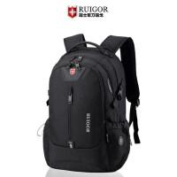 瑞士军刀双肩包大容量旅行包休闲商务电脑背包潮男瑞士女学生书包