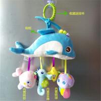 ?婴幼儿床铃床头铃床上摇铃音乐推车夹子挂件宝宝玩具风铃0-12个月?