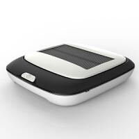 太阳能车载空气净化器智能车用负离子香薰氧吧PM2.5 +过滤网