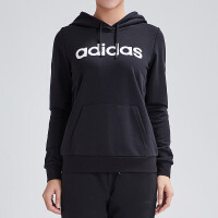 adidas阿迪达斯NEO女装2019春季新款运动服休闲连帽卫衣DW7762
