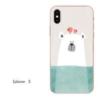 iphone7苹果6s手机壳6plus全包硅胶软壳5s情侣8X保护套男女款挂绳